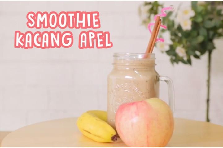 Menu Buka Puasa Sehat untuk Busui: Smoothie Kacang Apel
