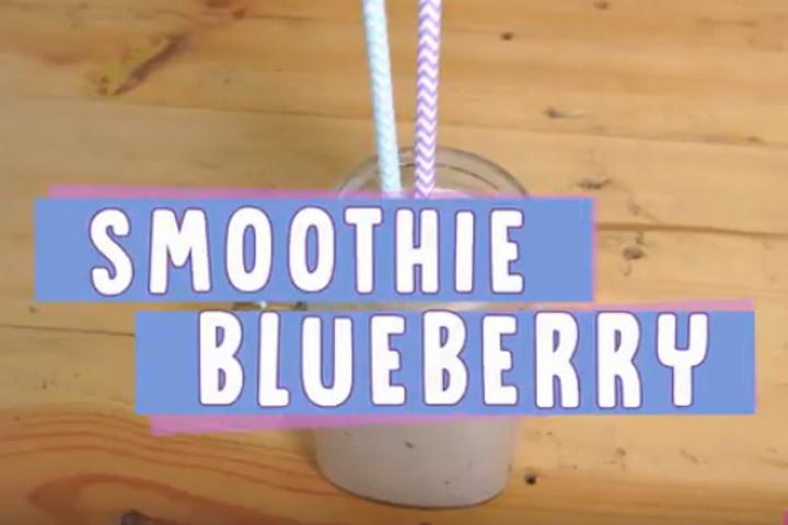Menu Buka Puasa Segar & Sehat Bumil: Smoothie Blueberry
