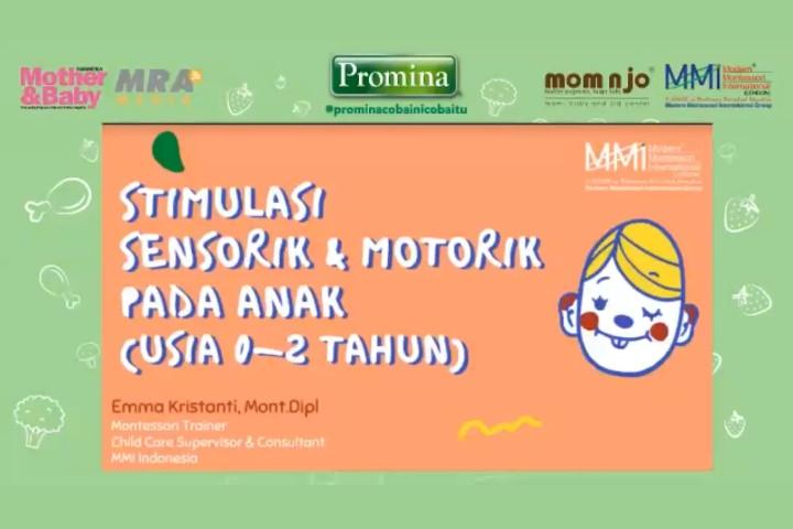 Stimulasi Sensorik dan Motorik dengan Metode Montessori