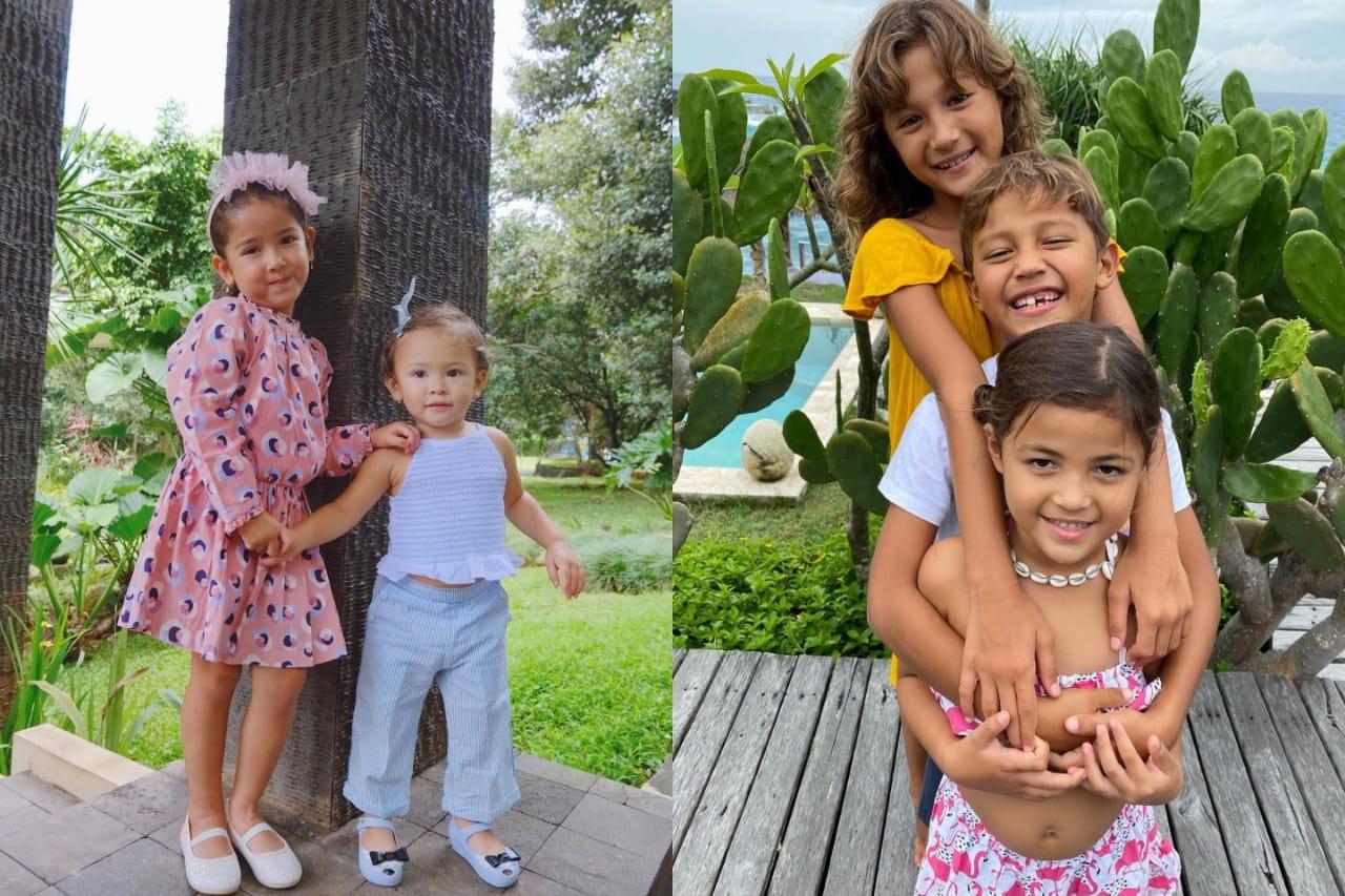 Sweet dan Gemas, Intip Momen Kakak Beradik Anak Selebriti Ini!