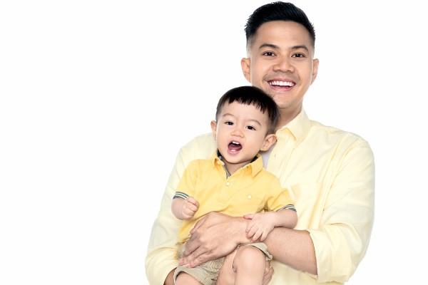 Totalitas Arie Dwi Andhika Jalankan Peran sebagai Ayah