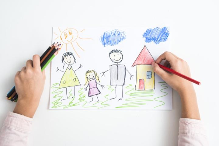 Moms, Kenali Arti di Balik Gambar Anak