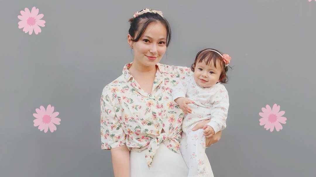 Potret Kedekatan Asmirandah dengan Putri Kecilnya, Chloe