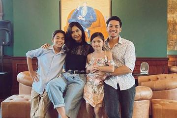 Potret Keharmonisan Keluarga Nana Mirdad dan Andrew White