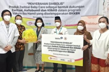 Dukung Kesuksesan Vaksinasi COVID-19 pada Ibu Hamil Lewat Donasi